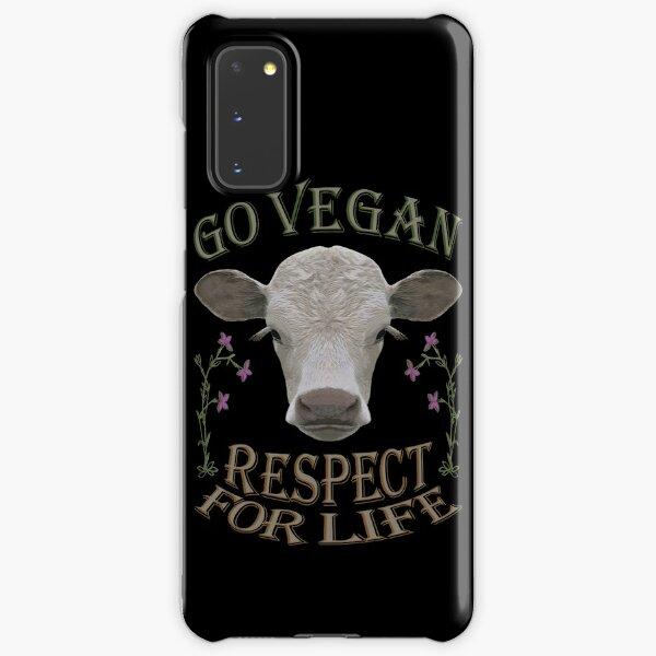 GO VEGAN - RESPECT FOR LIFE Samsung Galaxy Snap Case