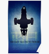 Firefly You Can't Take the Sky From Me Poster