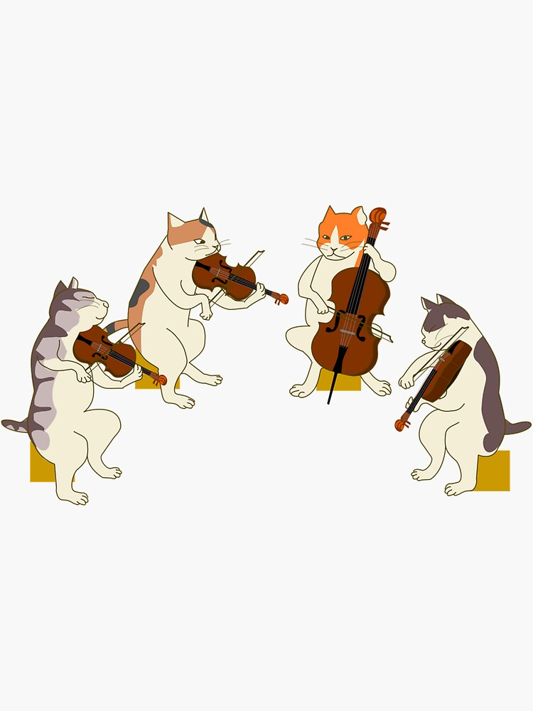 Cool Cat Quartet by Slinky-Reebs