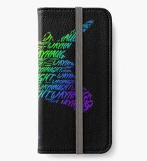 wayhaught unicorn silhouette iPhone Wallet/Case/Skin