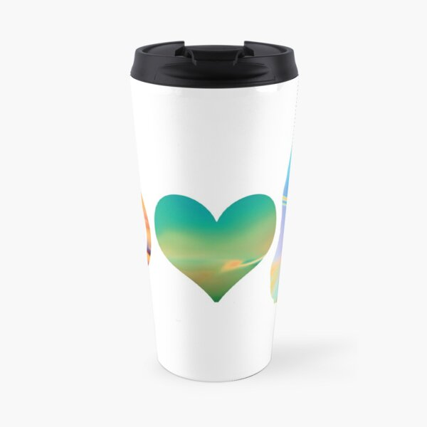 Peace, Love & Cats 2 Travel Mug
