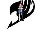 Fariy Tail Anime Erza Black by Jonathan Masvidal