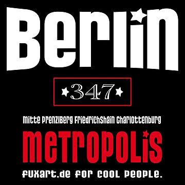 Berlin Metropolis by fuxart