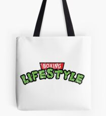 Boxing with TMNT ARTWORK Tote Bag
