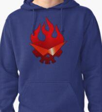 Gurren Lagann - Skull Flame Pullover Hoodie
