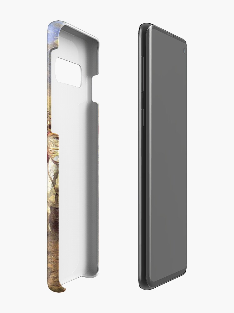 Alternate view of Scotland Forever! 1881, Battle of Waterloo, Lady Butler, Charge of the Royal Scots Greys. Case & Skin for Samsung Galaxy