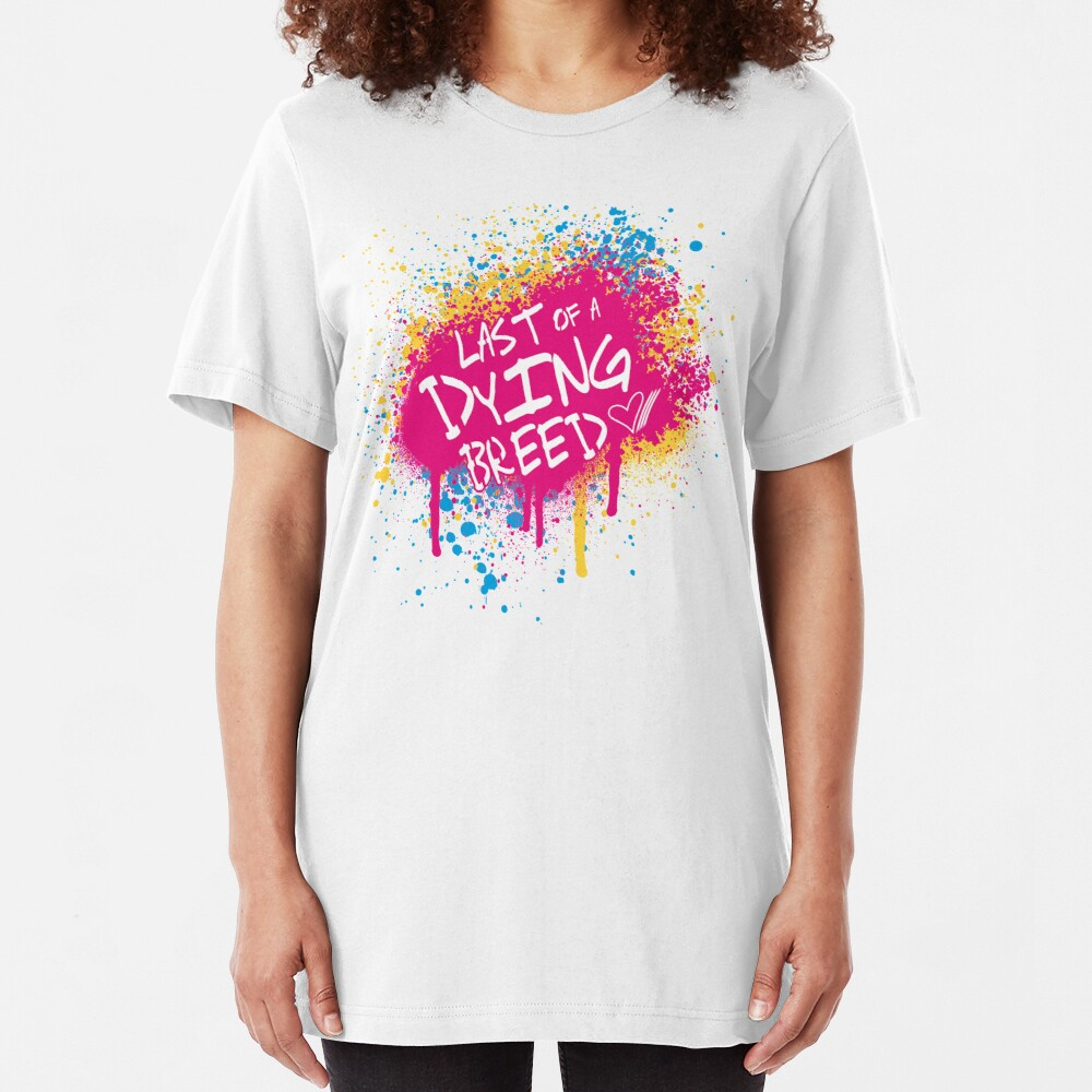 Last of a Dying Breed, T-Shirts & Hoodies Slim Fit T-Shirt