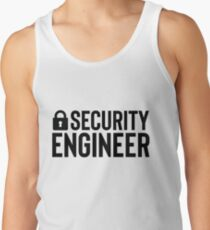 Security Engineer - Gift For Coder Programmer Tank Top