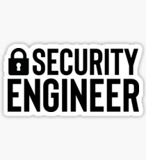 Security Engineer - Gift For Coder Programmer Sticker