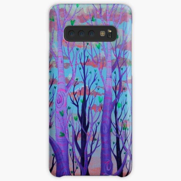 Purp-ple Trees Samsung Galaxy Snap Case