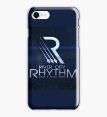 River City Rhythm  - Blue Drum Corps logo iPhone Case/Skin