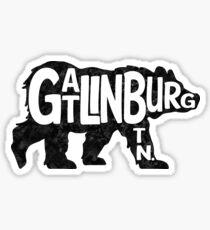 Pegatina Gatlinburg Tennessee Bear Great Smoky Mountains TN