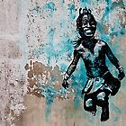 JUMPING CHILD - urban ART by ARTito