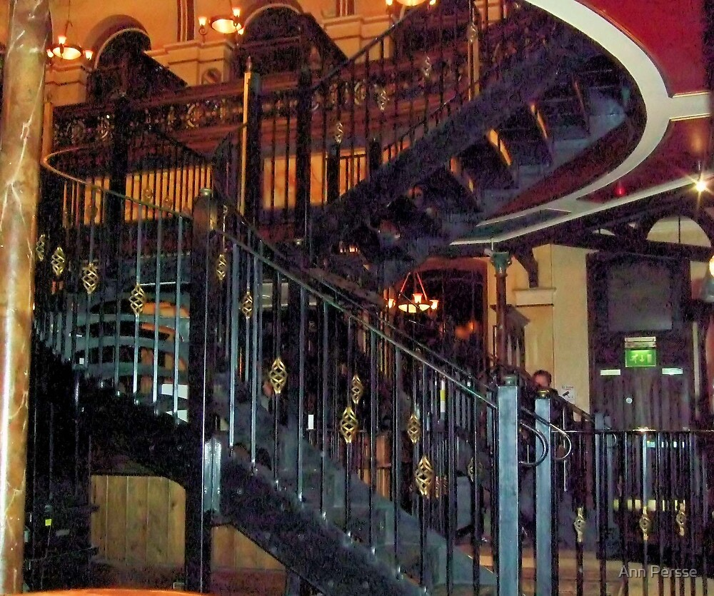 Spiral Stairs by Ann Persse