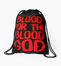 Blut für den Blutgott Rucksackbeutel