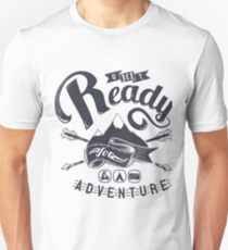 Get Read For Adventure Slim Fit T-Shirt