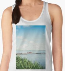 Tranquil Lake Scenery Women's Tank Top