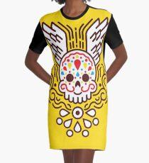 Tag der Toten T-Shirt Kleid