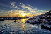 Camogli - Sunset - Italy  by paolo1955