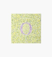 """""""O"""" Eye Test Letter Art Board"""