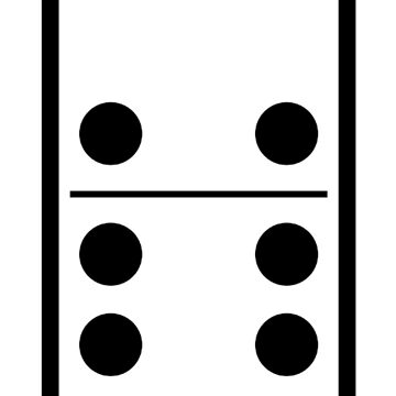 Dominoes tiles, DOMINO, Game by TOMSREDBUBBLE