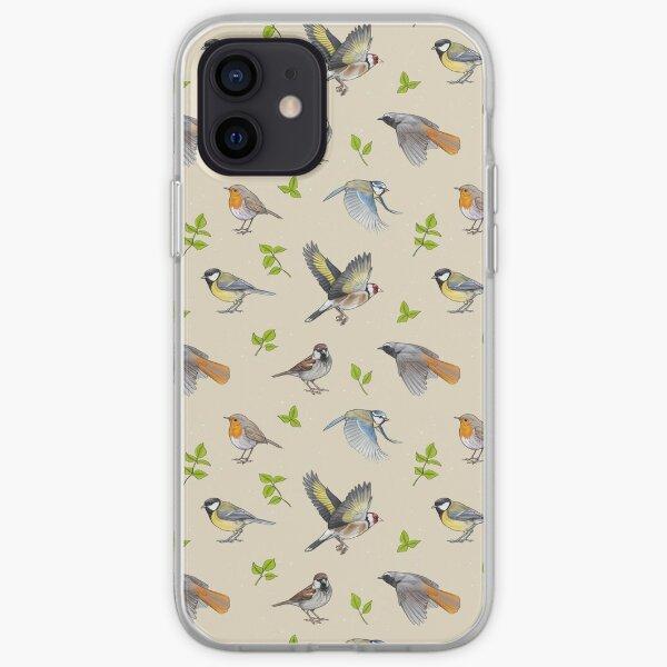 Birds pattern iPhone Soft Case