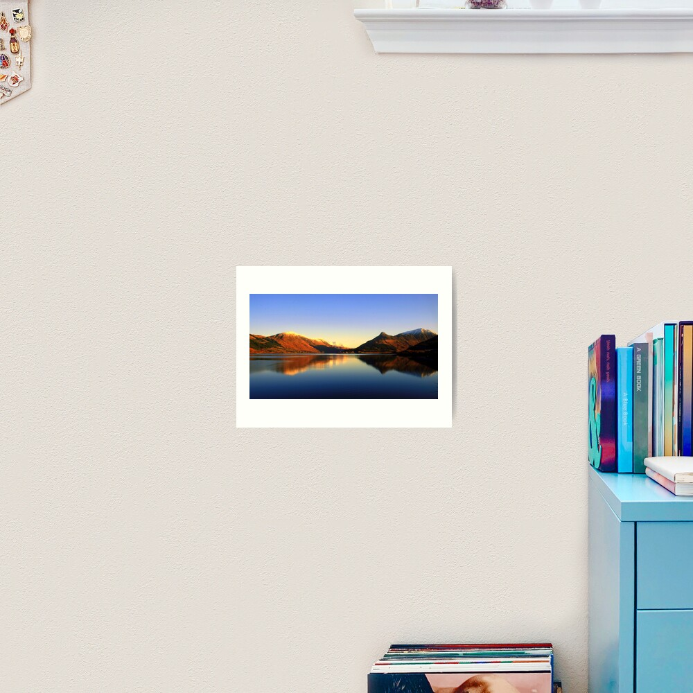 Loch  Leven and The Pap of Glencoe  Art Print