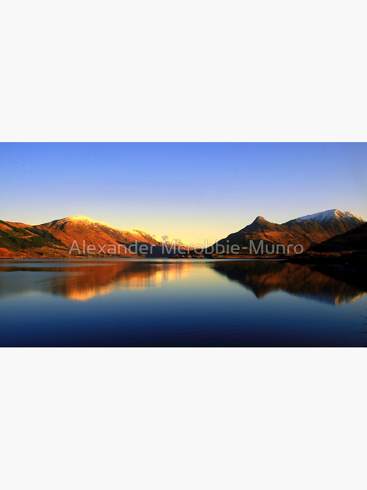 Loch  Leven and The Pap of Glencoe  by Alexanderargyll