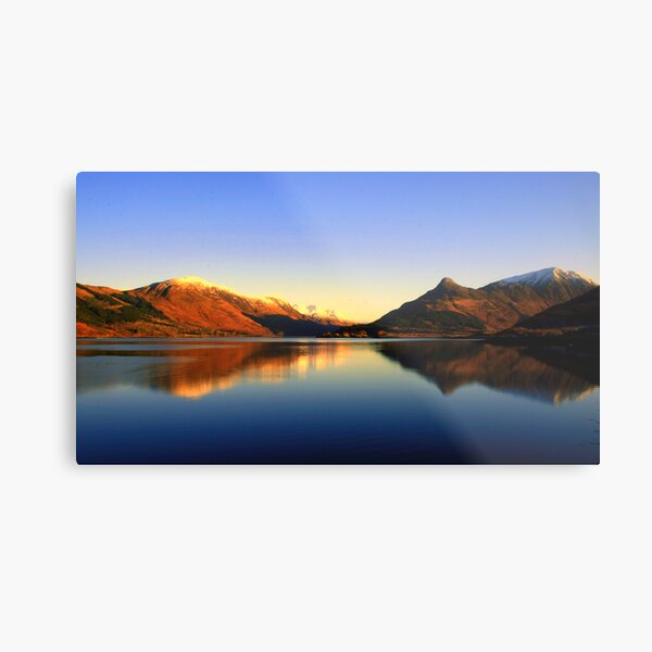 Loch  Leven and The Pap of Glencoe  Metal Print