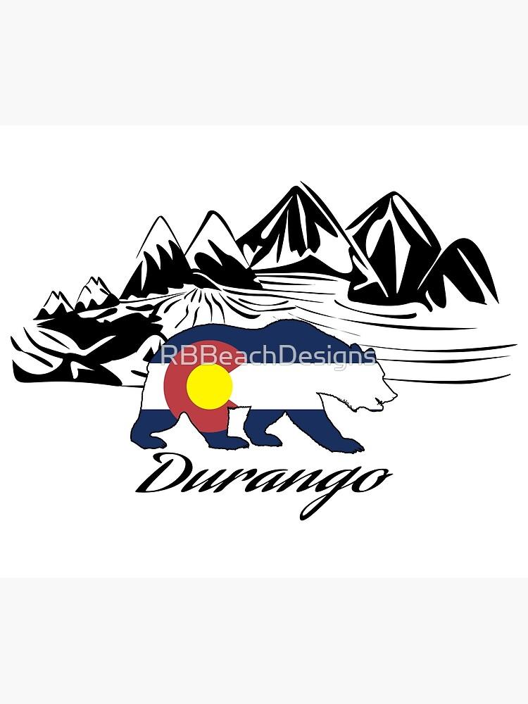 Durango Colorado by RBBeachDesigns
