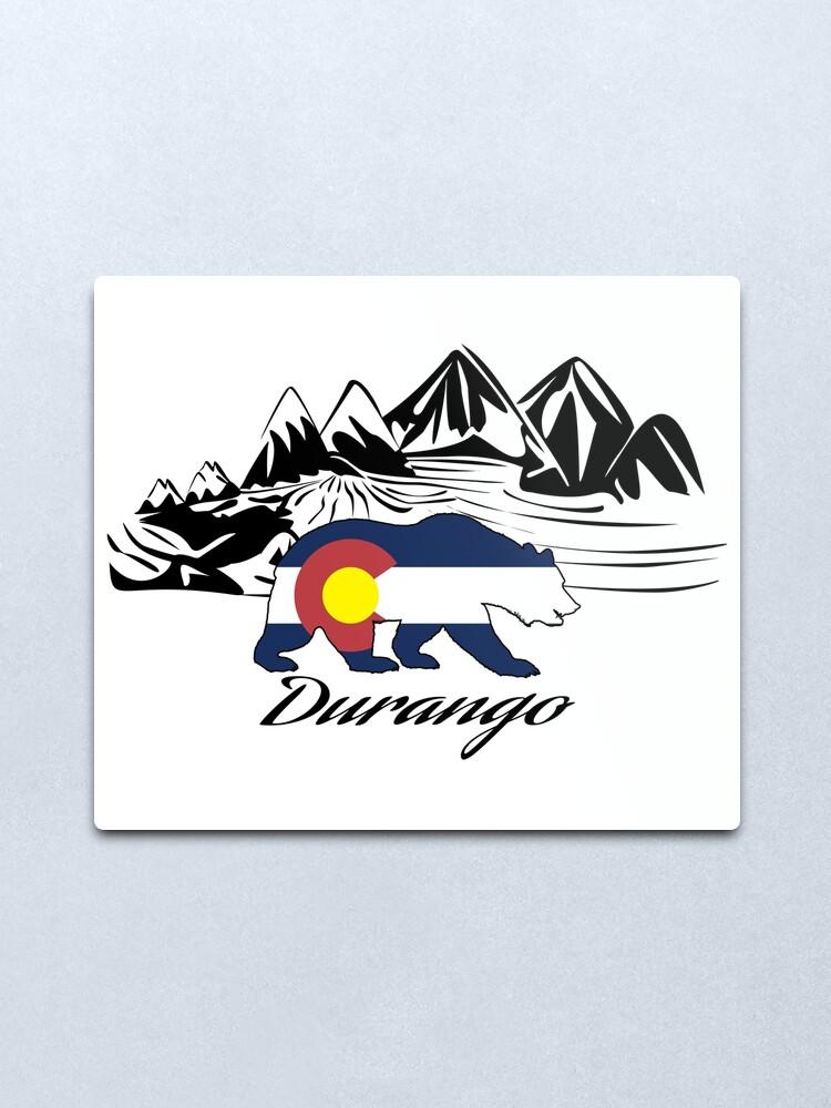 Alternate view of Durango Colorado Metal Print