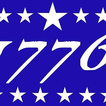1776 Thirteen Stars  by Patriot76