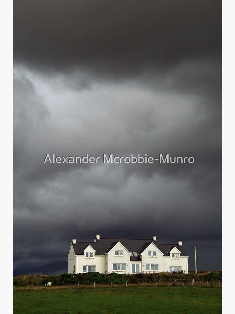 Storm Brewing by Alexanderargyll