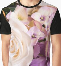 Floral Colorful Flower Rose Graphic T-Shirt