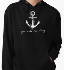 You Make Me Strong Lightweight Hoodie