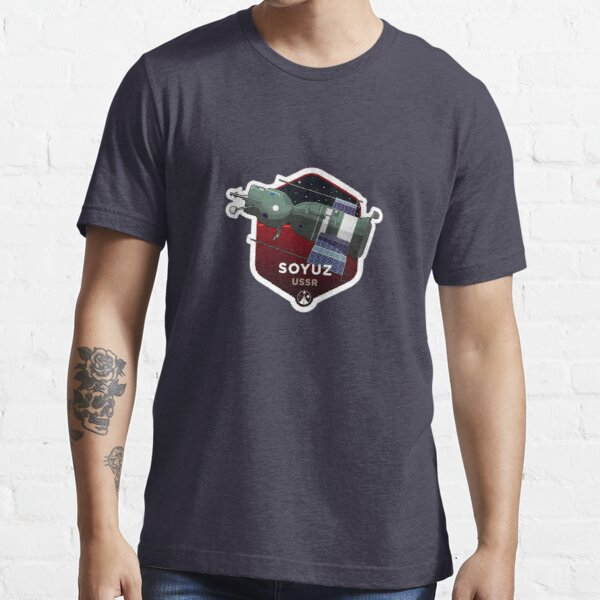 Space Race Series - SOYUZ Essential T-Shirt