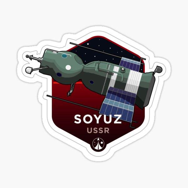 Space Race Series - SOYUZ Sticker
