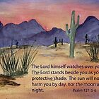 Our Protection- Psalm 121:5-6 by Diane Hall