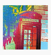 London Telephone Booth Photographic Print