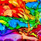 Abstract of Colors by Cathy Jones