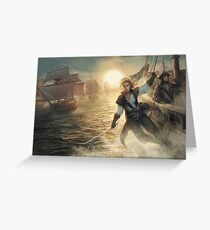 Pirate Nations: Cover Greeting Card