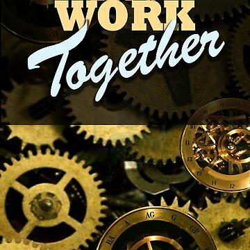 Let's work together. by ALatorreArt