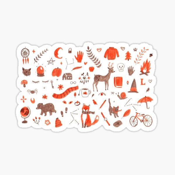 Autumn / Fall Pattern Sticker