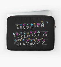 stranger alphabet things Laptop Sleeve