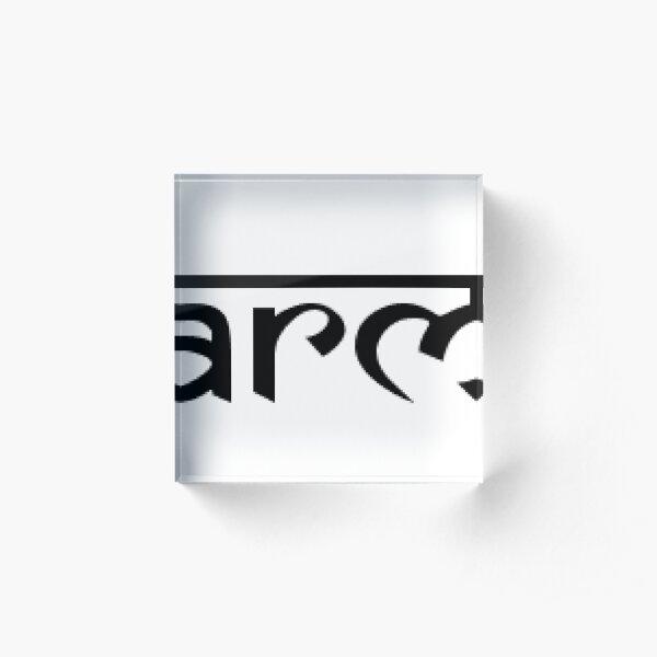 Karma Acrylic Block