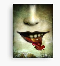 Happy meal Canvas Print
