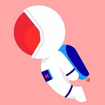 Little Space Man by MOREbyJP