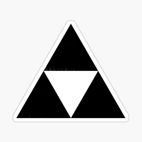 Triforce For Gamer Video Games Sticker