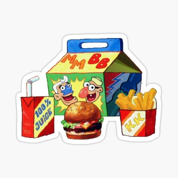 Krabby Meal Sticker