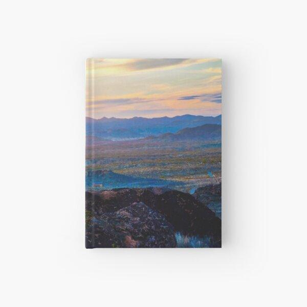 Chisos Mountain Sunset  Hardcover Journal